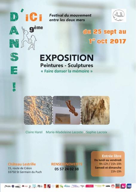 Affiche exposition A4